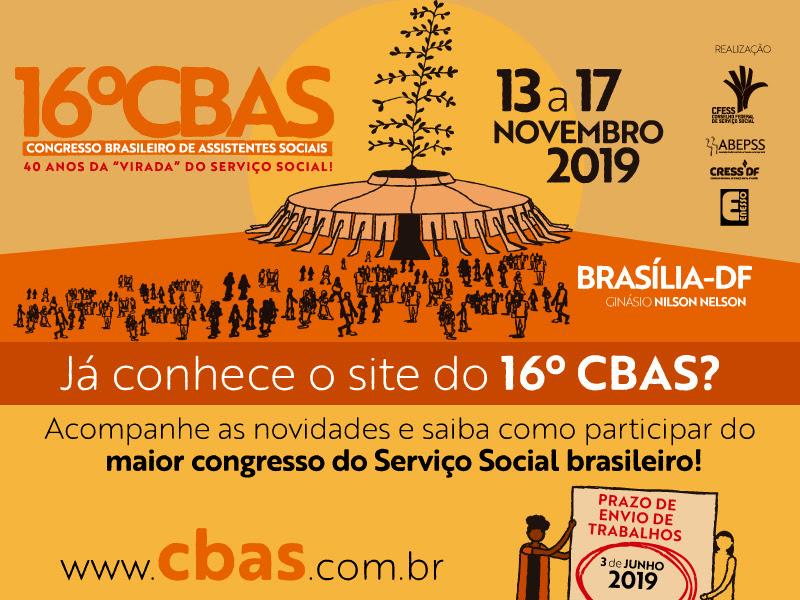XVI CBAS