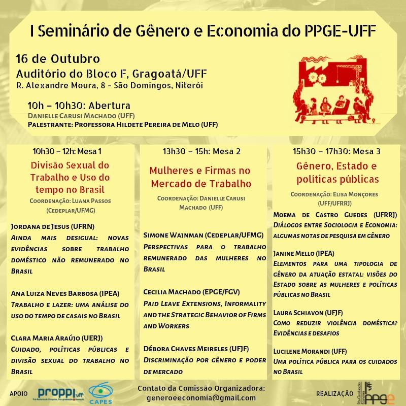 Seminário Genero Economia